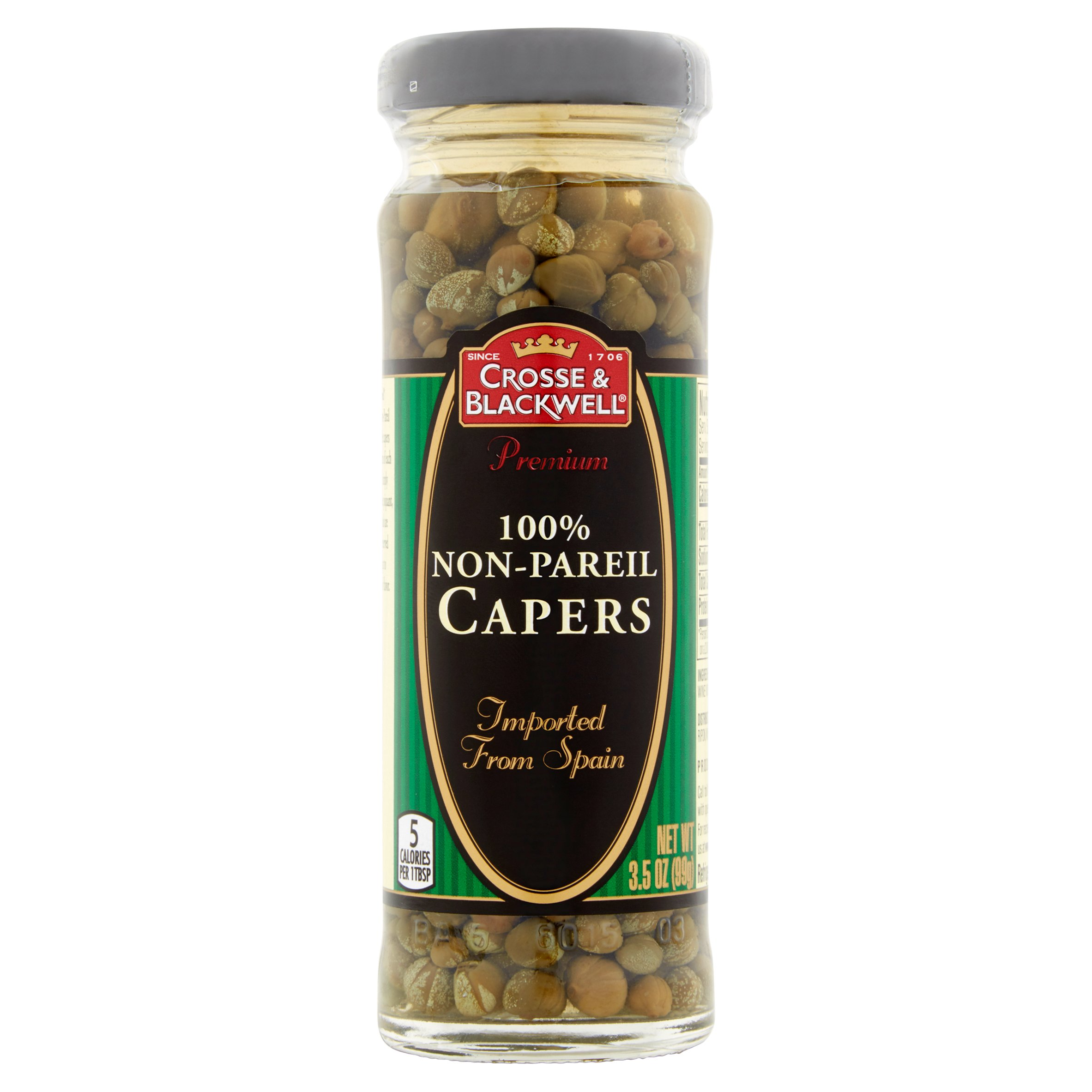 Crosse & Blackwell 100% Non-Pareil Capers, 3.5 OZ by J.M. Smucker LLC