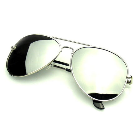Emblem Eyewear - Womens Mens Sunglasses Classic Premium Reflective Flash Full Mirrored Polarized Sunglasses