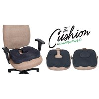 Essential Medical Supply The Cushion - The Only Cushion You Need is a Comfort Cushion, Donut Cuhion and Coccyx Cushion in 1