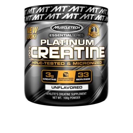 Essential Series Creatine Monohydrate Powder, 100% Pure Micronized Creatine Powder, Muscle Builder & Recovery, 80 Servings