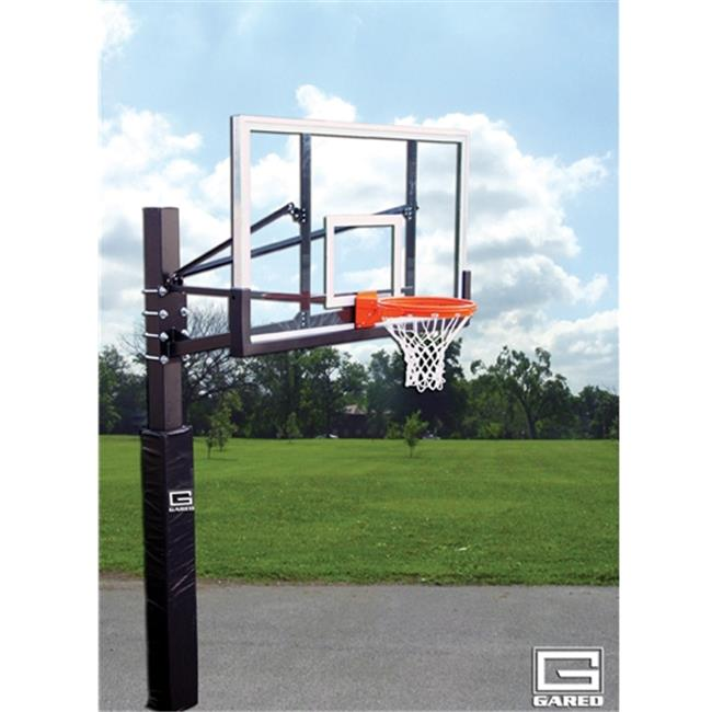 Gared Sports GP105G72 BB72G50 Glass 8800 Goal Endurance Playground System Backboard