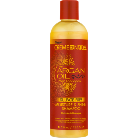 Creme of Nature Argan Oil Moisture & Shine Shampoo, 12 Oz