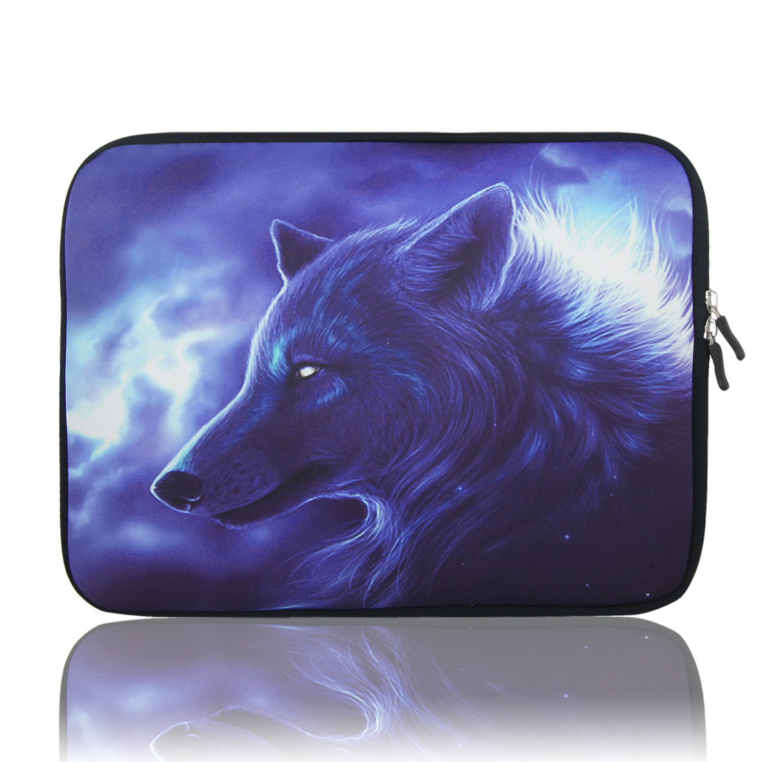 "17"",17.3"",17.4"" Neoprene Protective Notebook Laptop Sleeve Purple"