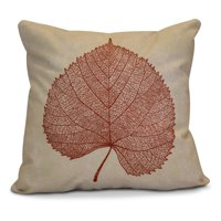 "Simply Daisy 16"" x 16"" Leaf Study Floral Print Outdoor Pillow"