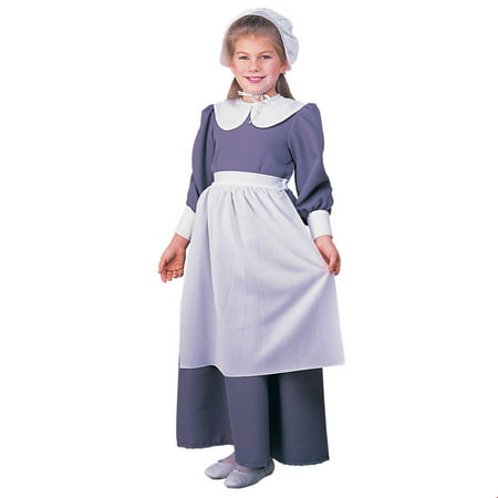Kids Pilgrim Girl Costume - Woman Pilgrim Costume