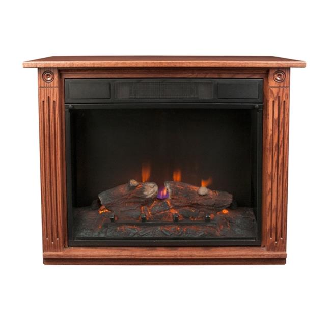 Dutch Legacy Co Dark Oak Electric Fireplace