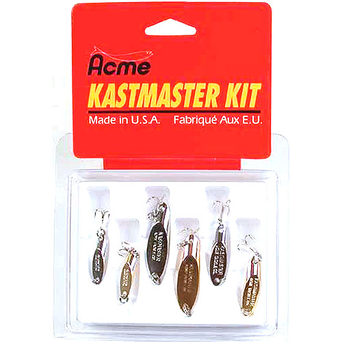 Acme Kastmaster Lure Kit, 6 Pieces