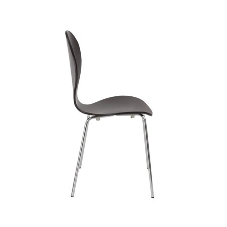Eurostyle Bunny Stacking Chair in Wenge - image 3 de 4