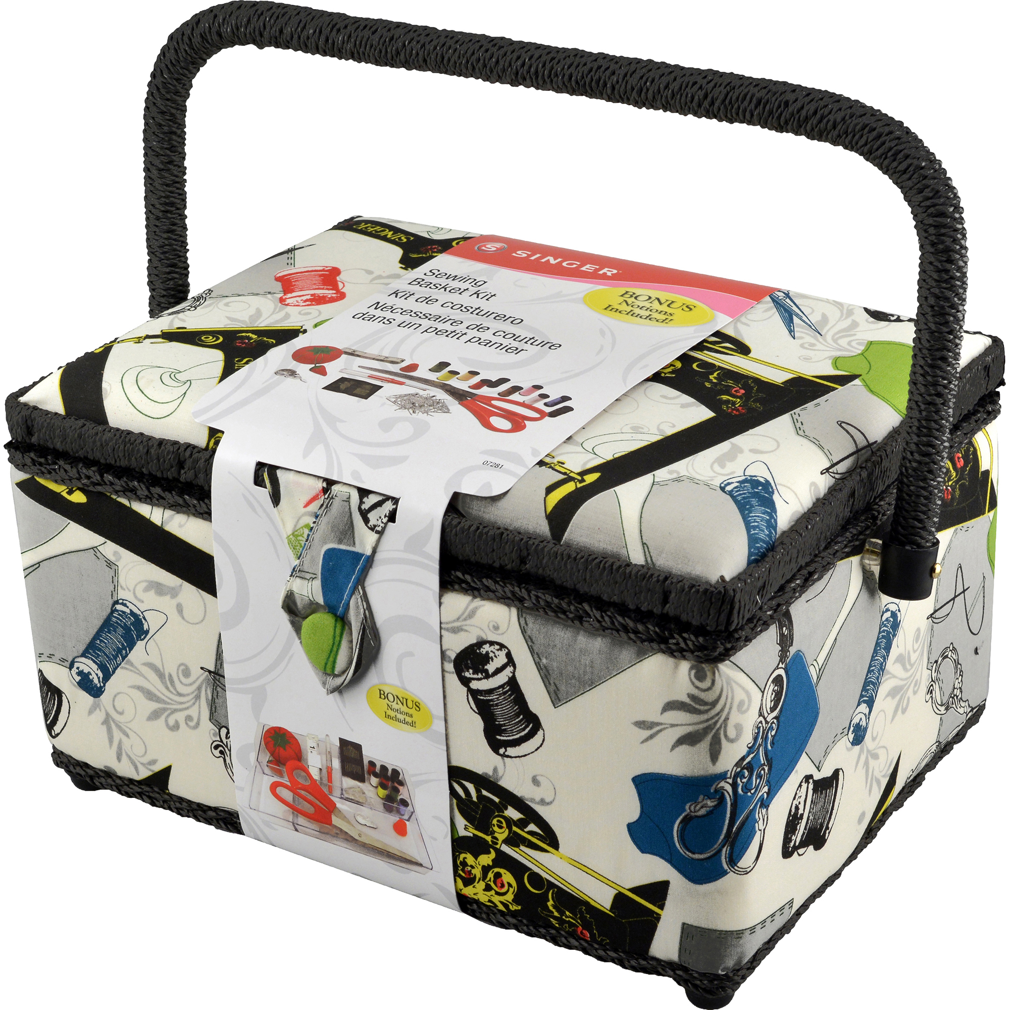 Singer QuiltPro Sewing Basket Kit