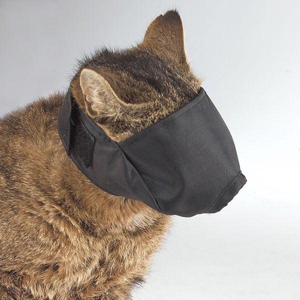 Guardian Gear Lined Nylon Cat Muzzle M 6-12lb