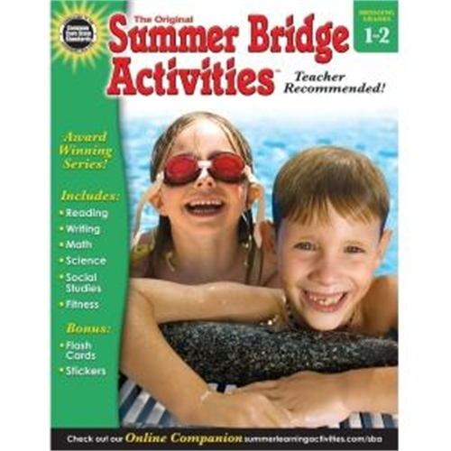 Carson-Dellosa Grades 1-2 Summer Bridge Activities Workbk -CDP904157