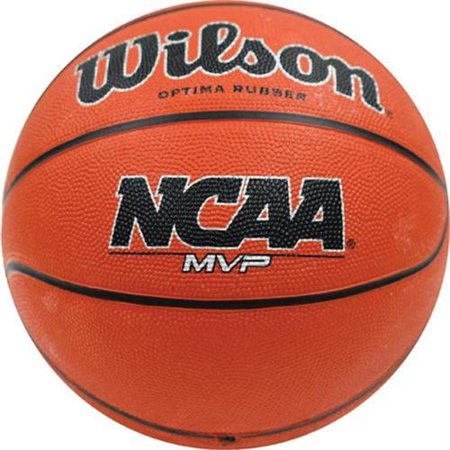 Olympia Sports BA418P Wilson NCAA MVP Womens Rubber Basketball