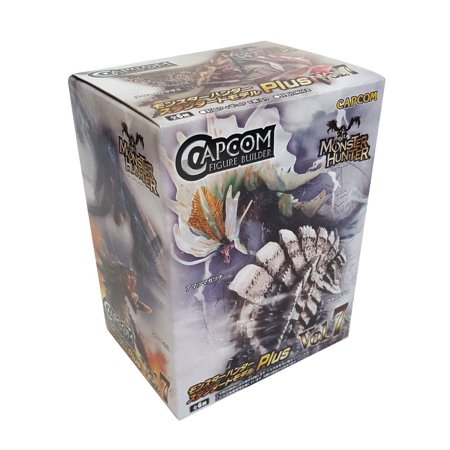 Monsters Singles (Capcom Monster Hunter Plus Vol. 7 Action Figures (Single Random Blind Box))