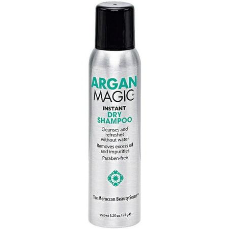 2 Pack - Argan Magic  Instant Dry Shampoo 3.25 oz