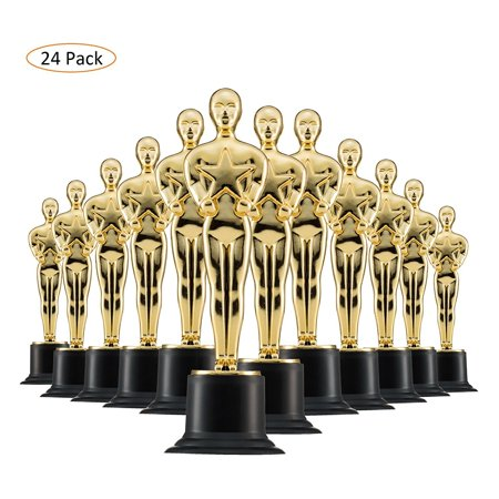 6  Gold Award Trophy For Award Ceremonys Or Party  24 Pack
