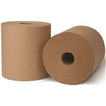 ControlLED Use Roll Towel Natural 8 x 1000 ft. 1 Ply, 6 per - 1 Ply Natural