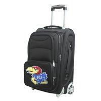 """Kansas Jayhawks 21"""" Rolling Carry-On Suitcase - No Size"""