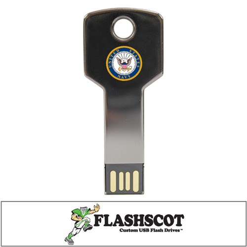 U.S. Navy Flash Key USB Drive - 8GB