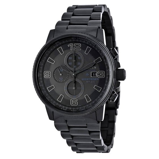 1ed2642a49b CITIZEN - Eco-Drive NightHawk Chronograph Mens Watch CA0295-58E ...