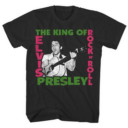 Elvis The King of Rock T-Shirt,  Elvis by FEA Merchandise