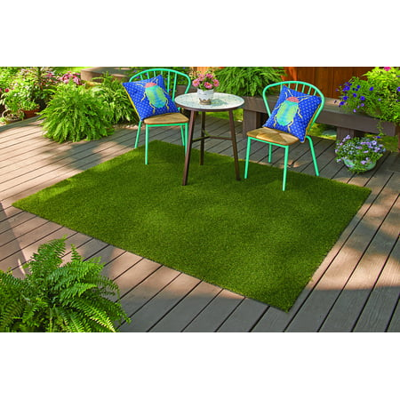 Better Homes Gardens Outdoor 36in X 60in Faux Gr Rug