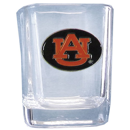 Auburn Tigers Square Shot Glass (F) by Siskiyou