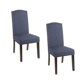 2-Set Better Homes & Gardens London Faux Linen Dining Chair