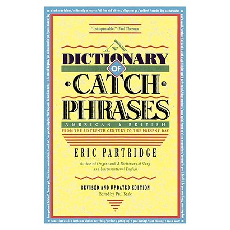 Dictionary of Catch Phrases - Halloween Catch Phrase Game
