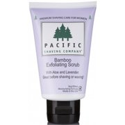 Pacific Shaving Company Women's Bamboo Exfoliating Scrub, 3 oz (Pack of 2)