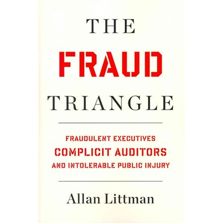 The Fraud Triangle  Fraudulent Executives  Complicit Auditors  And Intolerable Public Injury