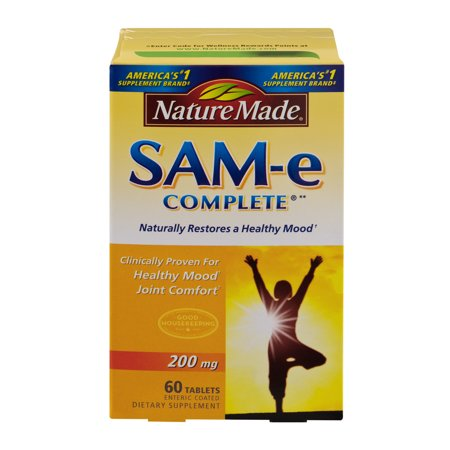 Nature Made SAM-e Complete 200mg Dietary Supplement Tablets - 60 CT