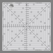 """Creative Grids 12 1/2"""" Square It Up or Fussy Cut Square Ruler"""