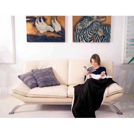 Husky Lambswool - Napa Super Soft Cozy Sherpa Throw Blanket 50