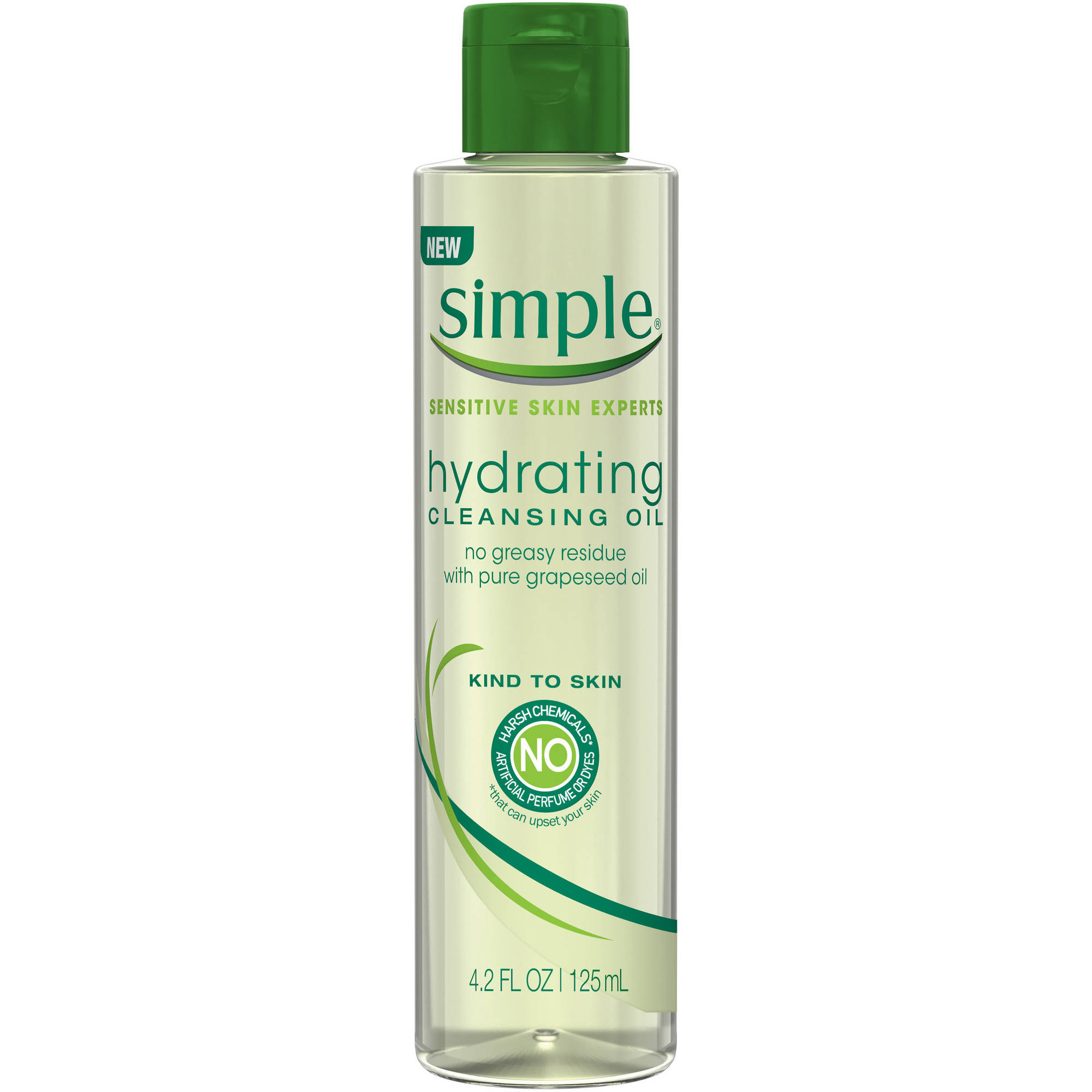 Unilever Simple Sensitive Skin Experts Hydrating Cleansing Oil, 4.2 Fl Oz