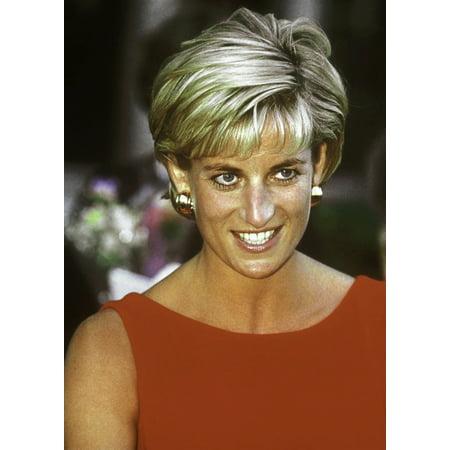 Princess Diana smiling Photo Print (Princess Diana Best Photos)