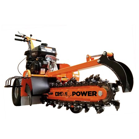 Detail K2 OPT124 24 in. 14 HP Trencher with KOHLER CH440 Command PRO Commercial Gas