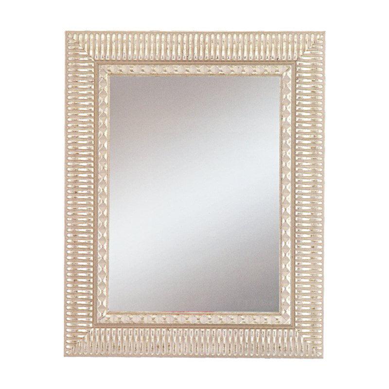 Haverhill Silver Wall Mirror - 32W x 44H in.