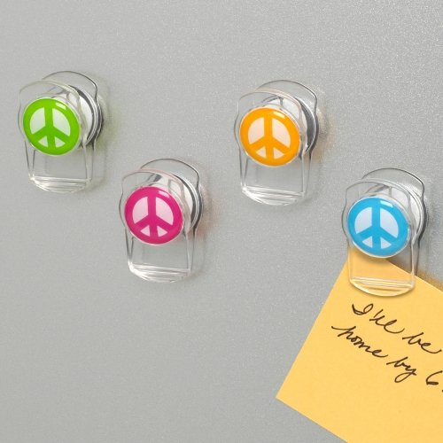 Peace Sign Magnets Set of 4