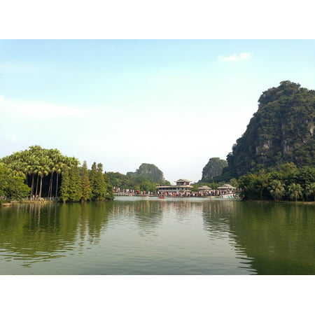LAMINATED POSTER China Seven Star Crags The Scenery Zhaoqing Poster Print 24 x 36