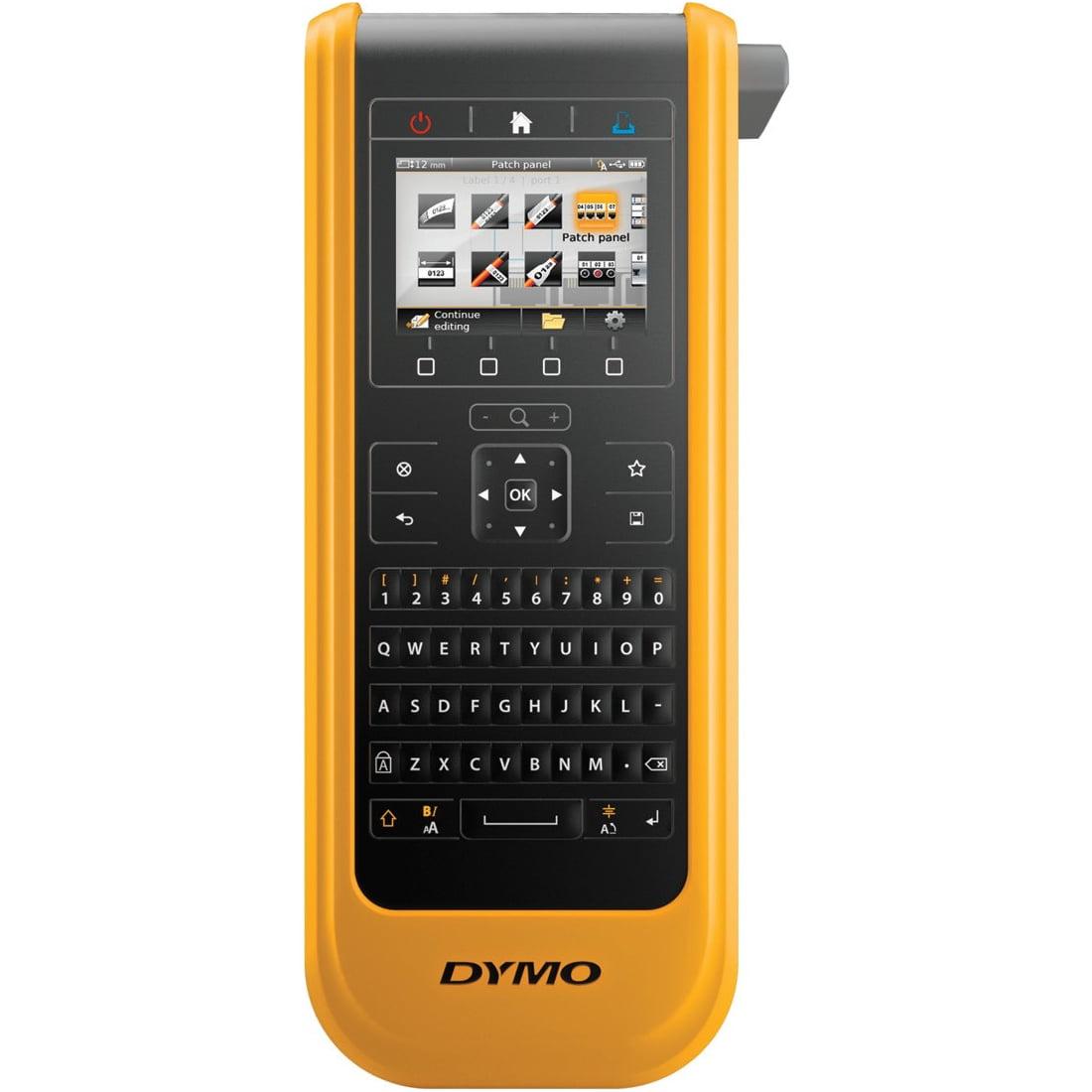 "Dymo Xtl 300 Label Maker - Heat Shrink Tubing, Tape, Label0.24"", 0.94"" Tape Cutter, Built-in Designs Template (1868814)"