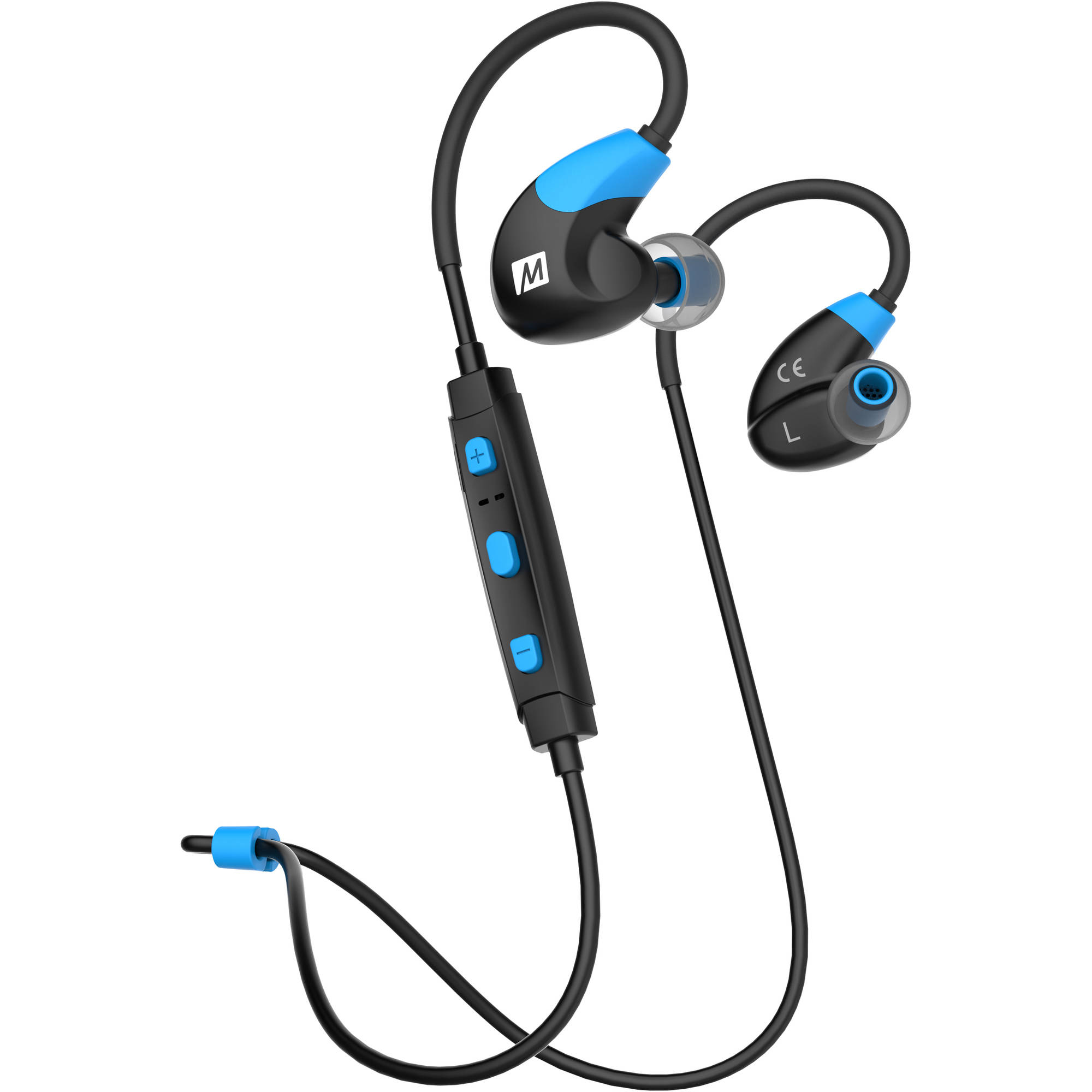 MEE audio X7 Stereo Bluetooth Wireless Sports In-Ear Headphones, Blue