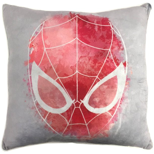 "Spiderman Classic ""Water Color"" Decorative Pillow ..."