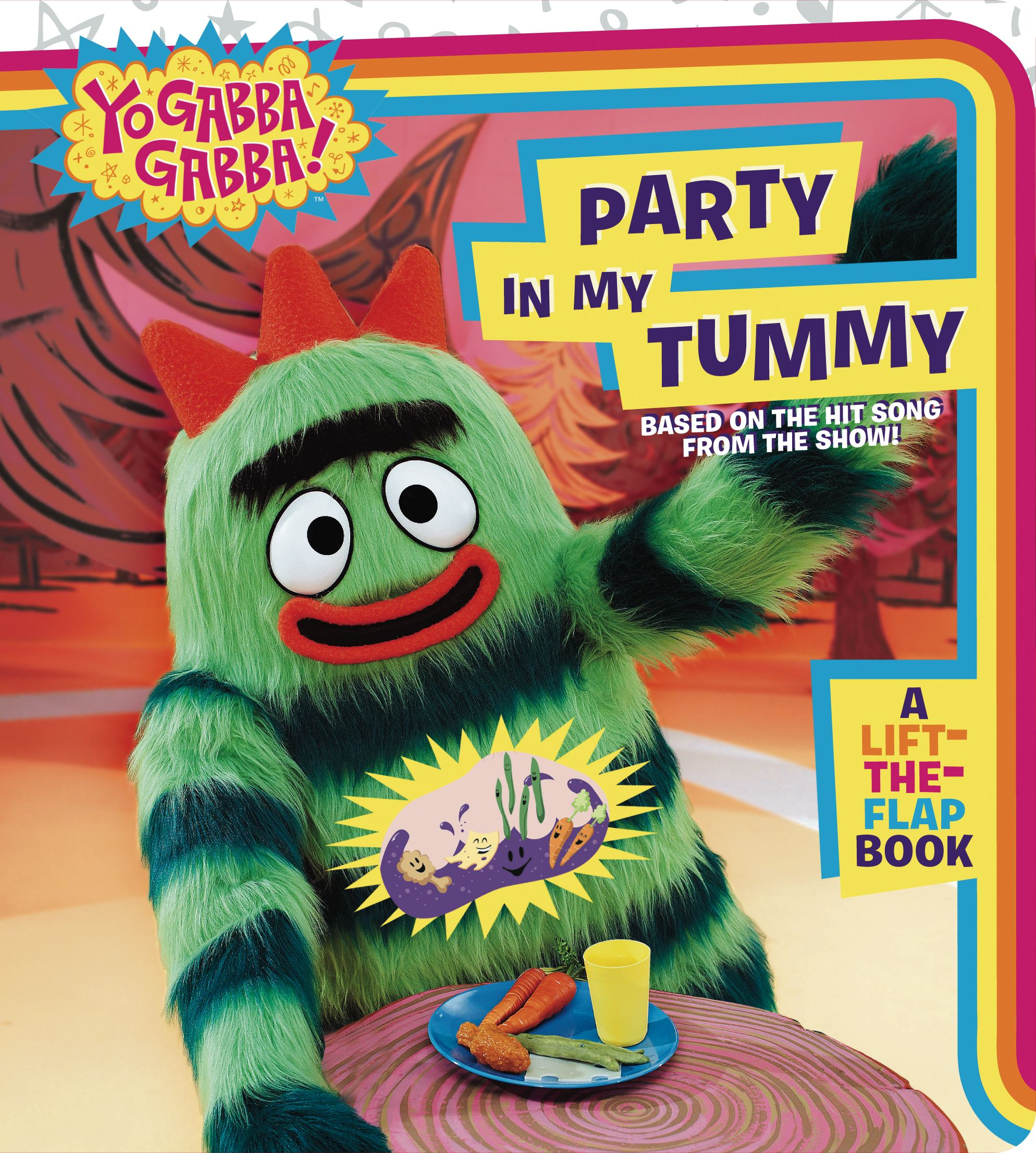 Party in My Tummy : A Lift-the-Flap Book