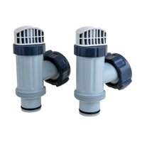 Intex 25010 Above Ground Plunger Valves with Gaskets and Nuts Replacement Part