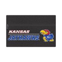 "NCAA Kansas Jayhawks Zippered Cotton Canvas Pencil Pouch, 7.5"" by 4.625"""