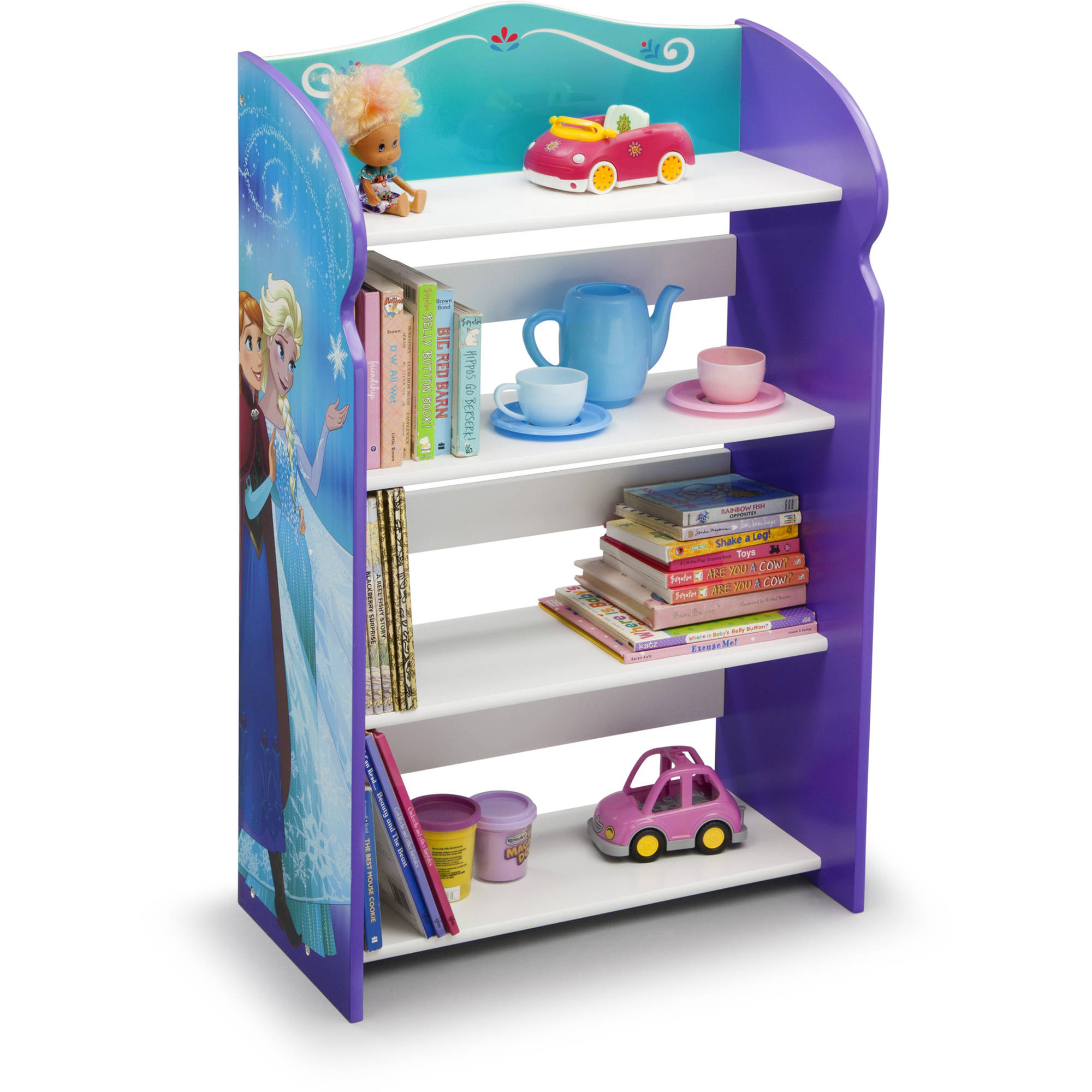Disney Frozen Wood Bookshelf By Delta Children   Walmart.com