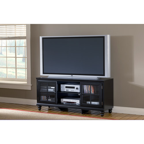 """Hillsdale Furniture Grand Bay Black Entertainment Console for TVs up to 48"""""""