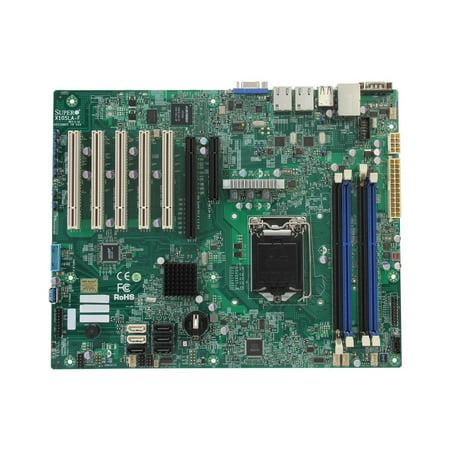 Supermicro MBD-X10SLA-F ATX Server Motherboard LGA 1150 Intel C222 DDR3 1600 (MBD-X10SLA-F-O) (Supermicro Motherboards)