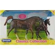Breyer Classics Chestnut Arabian Horse and Foal Set by Breyer