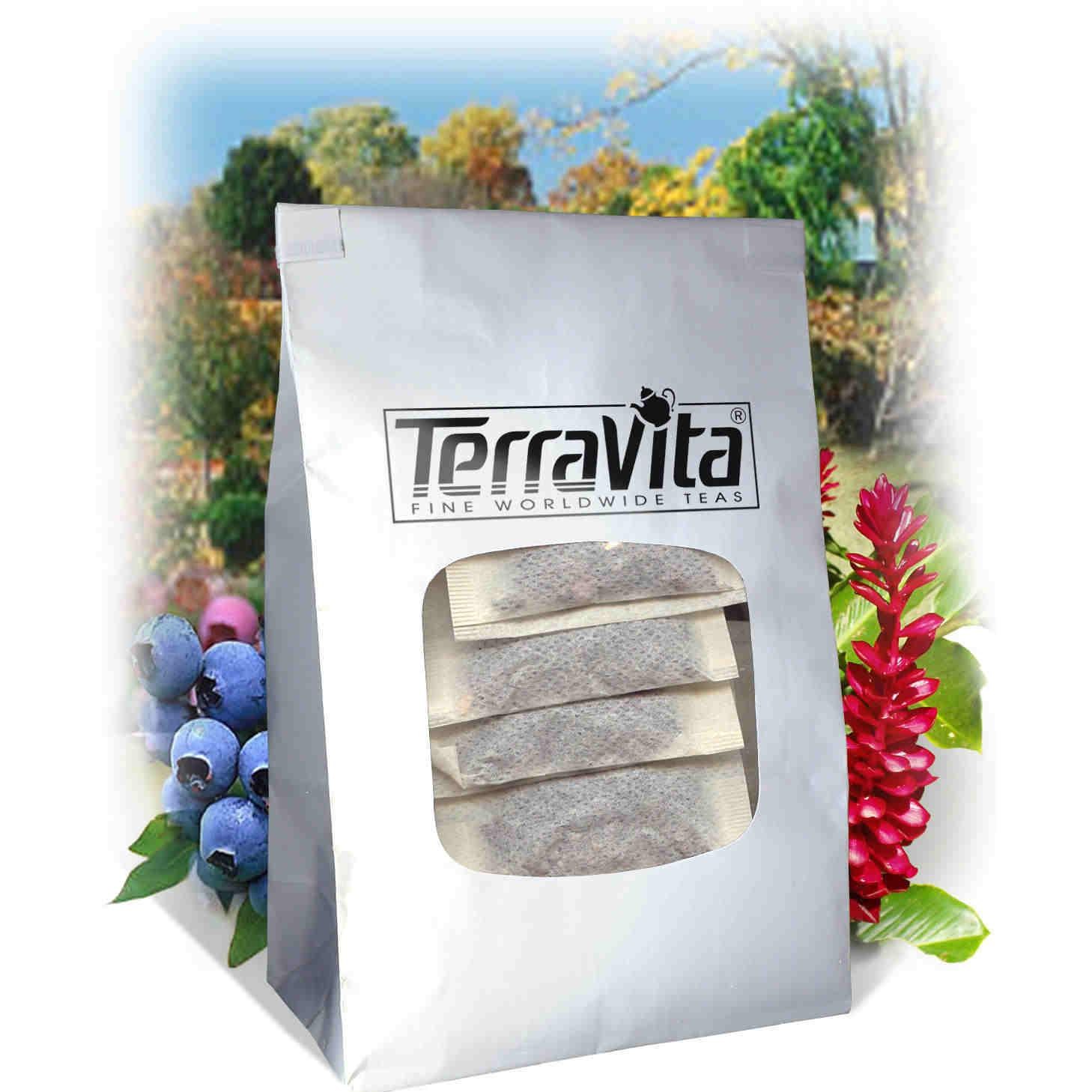 American Saffron and Slippery Elm Bark Combination Tea (50 tea bags, ZIN: 513642) by TerraVita